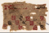 Textile fragment with squares and pseudo-inscription (EA1984.260)