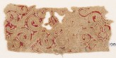 Textile fragment with tendrils and leaves (EA1984.271)
