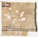 Textile fragment with bands of S-shapes, X-shapes, and diamond-shapes (EA1984.328)