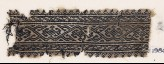 Textile fragment with vine and diamond-shaped flowers (EA1984.343)