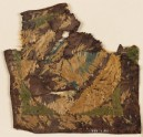 Textile fragment with blazon and cup (EA1984.355)