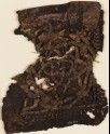 Textile fragment with rosettes and stars (EA1984.357)