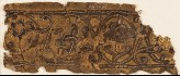 Leather fragment with interlace, possibly from a book cover (EA1984.361.a)