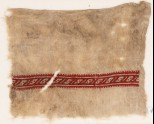 Textile fragment with band of S-shapes (EA1984.374)