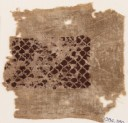 Textile fragment with scalloped pattern (EA1984.380)