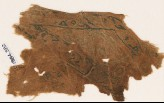 Textile fragment with vines and leaves, probably from a garment or trousers (EA1984.382)