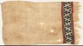 Textile fragment with band of trefoils (EA1984.386)