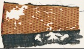 Textile fragment with flowers and lozenges (EA1984.411)