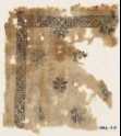 Textile fragment with eight-pointed stars (EA1984.415)