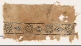 Textile fragment with alternating rosettes and medallions (EA1984.453)