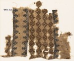Textile fragment with linked squares (EA1984.466)