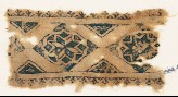 Textile fragment with eight-pointed stars (EA1984.468)