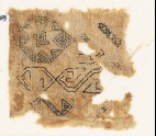 Sampler fragment with an eight-pointed star (EA1984.469)