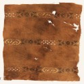 Textile fragment with three bands with hexagonal cartouches (EA1984.475)