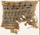 Textile fragment with bands of S-shapes and diamond-shapes (EA1984.483)