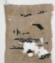 Sampler fragment with scrolls (EA1984.502)