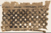 Textile fragment with linked squares (EA1984.534)