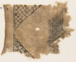 Textile fragment with squares and diamond-shapes (EA1984.535)