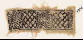 Textile fragment with chevrons and diamond-shapes (EA1984.541)