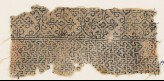 Textile fragment with interlacing chevrons and Maltese crosses (EA1984.543)
