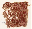 Textile fragment with bands of vines and flowers (EA1984.56)
