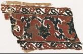 Textile fragment with vine, tendrils, and trefoils (EA1984.95)