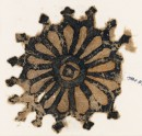 Textile fragment with rosette and trefoil finials (EA1984.97)