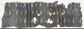 Textile fragment with stripes and diamond-shapes (EA1988.53)