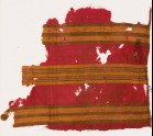 Textile fragment with striped bands (EA1988.54.b)