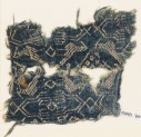 Textile fragment with birds and 'hand of Fatima' (EA1988.70)