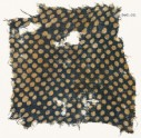 Textile fragment with dots