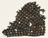 Textile fragment with rosettes, lobed squares, and dots (EA1990.125)