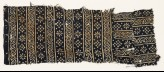 Textile fragment with rosettes, squares, and dots (EA1990.129)