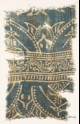 Textile fragment with arches and dotted vine (EA1990.227)