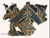 Textile fragment with arch and plant-shapes (EA1990.229)