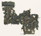 Textile fragment with linked scrolls (EA1990.260)