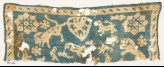 Textile fragment with animals, stars, and heart (EA1990.267)