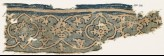 Textile fragment with vine, tendrils, and medallions (EA1990.272)