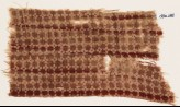 Textile fragment with linked squares (EA1990.285)