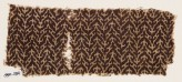 Textile fragment with linked chevrons and trefoils (EA1990.294)