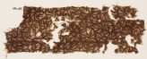 Textile fragment with swirling leaves (EA1990.295)