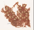 Textile fragment with interlocking spirals (EA1990.306)