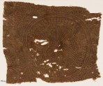 Textile fragment with circle, tendrils, and stylized plants (EA1990.324)