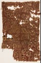 Textile fragment with stylized trees (EA1990.356)