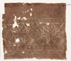 Textile fragment with stylized trees (EA1990.361)