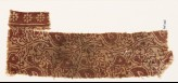 Textile fragment with stylized tendrils and leaves (EA1990.364)
