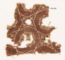 Textile fragment with four-pointed stars and rosettes (EA1990.367)