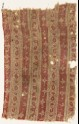 Textile fragment with bands of flowers (EA1990.386)