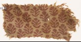 Textile fragment with palmettes (EA1990.395)