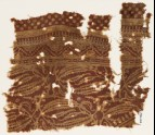 Textile fragment with plants with long leaves (EA1990.403)